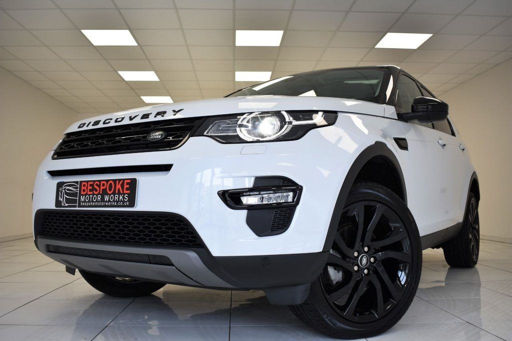 USED 2018 68 LAND ROVER DISCOVERY SPORT 2.0 TD4 HSE BLACK AUTOMATIC