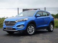 2017 HYUNDAI TUCSON SE NAV 1.7 CRDI BLUE DRIVE 5d 114 BHP **VAT Q** £13995.00