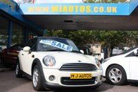 USED 2011 61 MINI CONVERTIBLE 1.6 COOPER D Convertible 112 BHP NEED FINANCE??? APPLY WITH US!!!