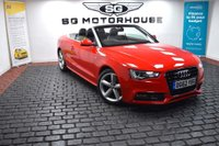 USED 2012 62 AUDI A5 2.0 TDI S line Cabriolet Multitronic 2dr Airscarf + S Line + 2 Owners
