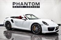 USED 2016 16 PORSCHE 911 3.8 TURBO S PDK 2d AUTO 572 BHP