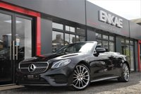 USED 2018 18 MERCEDES-BENZ E 220 2.0 E 220 D AMG LINE PREMIUM 2d AUTO 192 BHP REVERSE CAMERA*PARKING ASSIST*AMG LINE*20INCH ALLOYS*LEATHER SEATS*HEATED SEATS*ELECTRIC SEATS*FOLDING MIRRORS*APPLE CAR PLAY*ANDROID AUTO*BRAKE ASSIST*DAB RADIO*PHONE PREP*CRUISE CONTROL*ROOF LINER IN BLACK FABRIC*SAT NAV*MERCEDES COMMAND SCREEN