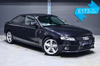 USED 2008 AUDI A4 2.0 TDI S LINE  ** FULL BLACK LEATHER, S LINE, LOW MILEAGE **