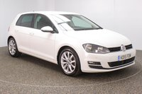 USED 2015 15 VOLKSWAGEN GOLF 1.6 GT TDI BLUEMOTION TECHNOLOGY DSG 5DR AUTO SAT NAV 1 OWNER 109 BHP FULL SERVICE HISTORY + SATELLITE NAVIGATION + PARKING SENSOR + BLUETOOTH + CRUISE CONTROL + MULTI FUNCTION WHEEL + AIR CONDITIONING + DAB RADIO + ELECTRIC WINDOWS + ELECTRIC MIRRORS + 17 INCH ALLOY WHEELS