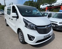 USED 2017 67 VAUXHALL VIVARO L2H1 2900 SPORTIVE CDTI IMMACULATE, LOW MILEAGE DOUBLE CAB