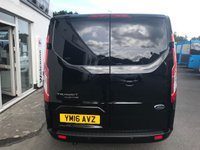 USED 2016 16 FORD TRANSIT CUSTOM 270 LIMITED 2.2 TDCi 125 L1 H1 SWB 6-Speed