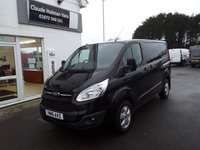2016 FORD TRANSIT CUSTOM 270 LIMITED 2.2 TDCi 125 L1 H1 SWB 6-Speed SOLD