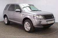 USED 2013 13 LAND ROVER FREELANDER 2.2 SD4 HSE 5DR AUTO SAT NAV PAN ROOF LEATHER SEATS 190 BHP FULL SERVICE HISTORY + HEATED LEATHER SEATS + SATELLITE NAVIGATION + PARKING SENSOR + DOUBLE SUNROOF + BLUETOOTH + CRUISE CONTROL + CLIMATE CONTROL + MULTI FUNCTION WHEEL + XENON HEADLIGHTS + DAB RADIO + ELECTRIC SEATS + ELECTRIC WINDOWS + ELECTRIC MIRRORS + 18 INCH ALLOY WHEELSALLOY WHEELS