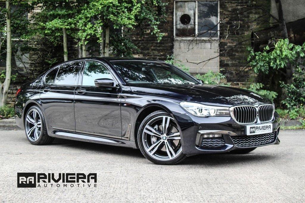 USED 2016 66 BMW 7 SERIES 3.0 740D XDRIVE M SPORT 4d AUTO 315 BHP