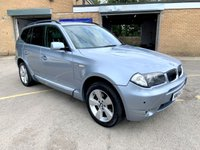 USED 2004 54 BMW X3 2.5 SPORT 5d AUTO FULL HEATED LEATHER, FULLY COLOUR CODED KIT  HUGE SERVICE HISTORY, AUTOMATIC, FULL COLOUR CODED KIT
