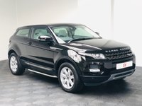 USED 2013 13 LAND ROVER RANGE ROVER EVOQUE 2.2 SD4 PURE TECH 3d 190 BHP LOW MILES + PAN ROOF + COUPE + SERVICE HISTORY + 4WD