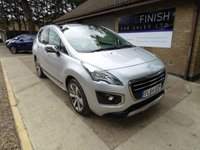 USED 2014 64 PEUGEOT 3008 1.6 HDI ALLURE 5d 115 BHP * £0 DEPOSIT FINANCE AVAILABLE * 1 PRIVATE KEEPER FROM NEW * SAT-NAV * PANORAMIC ROOF *