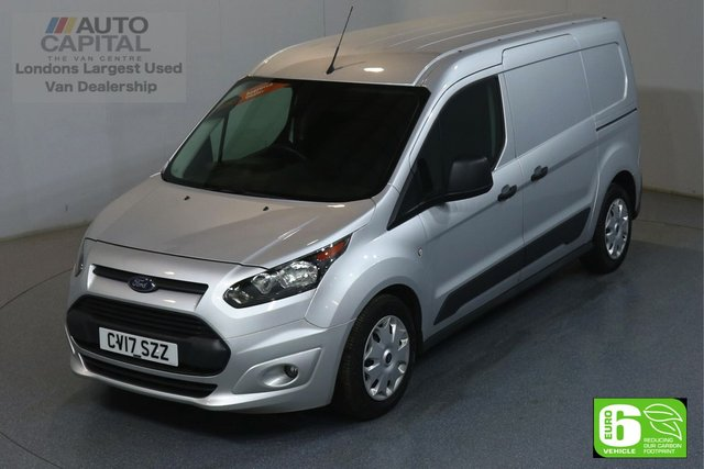 2017 17 FORD TRANSIT CONNECT 1.5 210 TREND L2 LWB 100 BHP EURO 6 ENGINE FRONT HEATED SCREEN, VOICE CONTROL