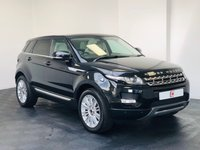 USED 2011 61 LAND ROVER RANGE ROVER EVOQUE 2.2 SD4 PRESTIGE LUX 5d AUTO 190 BHP PAN ROOF + SAT NAV + SERVICE HISTORY + LAND ROVER HISTORY