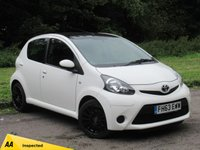 USED 2014 63 TOYOTA AYGO 1.0 VVT-I MOVE 5d 68 BHP SATELLITE NAVIGATION, FULL SERVICE HISTORY