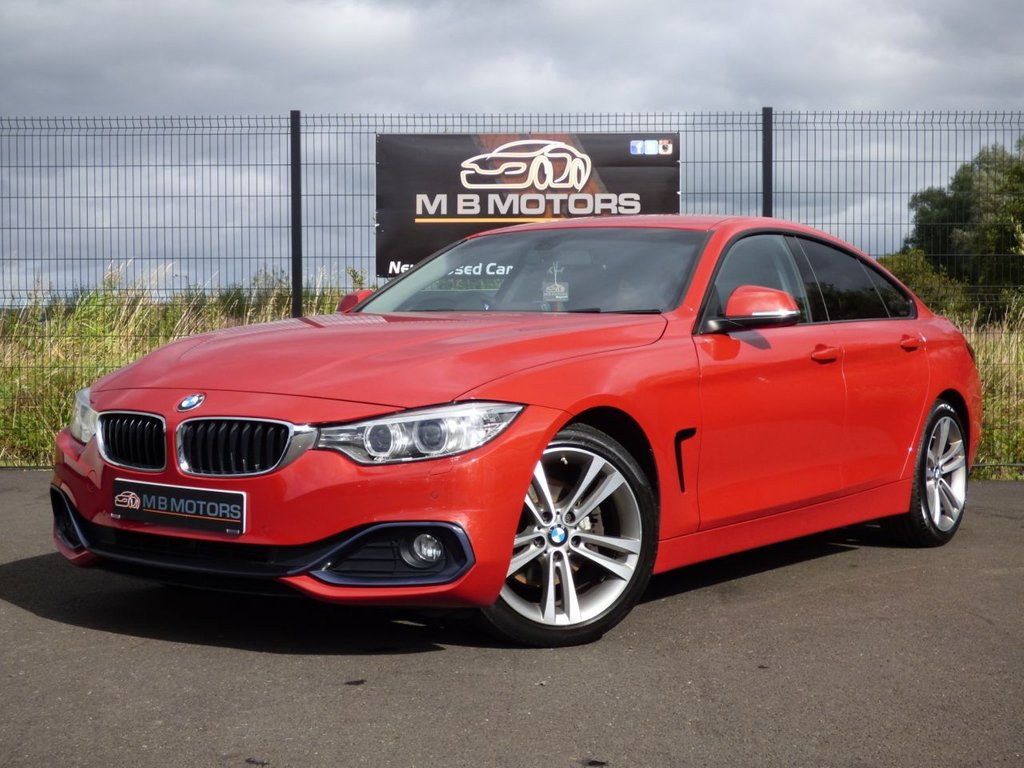 USED 2015 BMW 4 SERIES 420D SPORT GRAN COUPE 4d 188 BHP