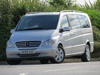 USED 2008 58 MERCEDES-BENZ VIANO 3.0 CDI EXTRA LONG AMBIENTE 5d AUTO 202 BHP 8 SEATER