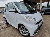 2013 SMART FORTWO CABRIO 1.0 EDITION 21 MHD 2d AUTO 71 BHP £4290.00