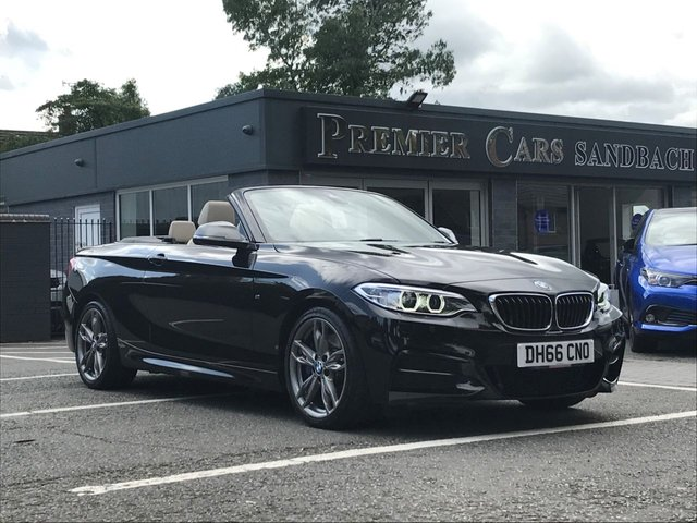 USED 2016 66 BMW 2 SERIES 3.0 M240I 2d AUTO 335 BHP