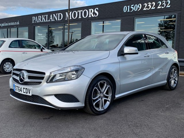 USED 2014 64 MERCEDES-BENZ A CLASS 1.5 A180 CDI BLUEEFFICIENCY SPORT 5d 109 BHP AA WARRANTY,  MOT AND SERVICE INCLUDED