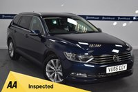 USED 2016 66 VOLKSWAGEN PASSAT 2.0 SE BUSINESS TDI BLUEMOTION TECHNOLOGY 5d 150 BHP (ONE OWNER - SAT NAV - BLUETOOTH)