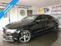2013 AUDI A5 1.8 TFSI BLACK EDITION 2d 170 BHP £SOLD