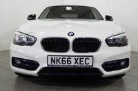 USED 2016 66 BMW 1 SERIES 1.5 116D SPORT 3d 114 BHP Lovely 116 D Sport Turbo that we have taken in part exchange. Very clean inside and out and a real joy to drive. Packed full of features and priced sensibly. We don't expect  to wait long for this to sell so if you're interested simply get in touch as soon as you can and one of our experienced sales team will be pleased to assist. We offer ZERO deposit finance at competitive rates and we welcome your part exchange.