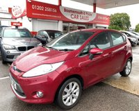 2010 FORD FIESTA 1.2 ZETEC 5d 81 BHP *ONLY 60,000 MILES* £3795.00