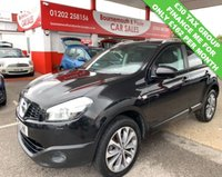 2013 NISSAN QASHQAI 1.6 TEKNA IS DCIS/S 5d 130 BHP £30 TAX GROUP £6995.00