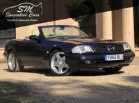USED 2001 MERCEDES-BENZ SL 3.2 SL320 2d AUTO 221 BHP ONLY 36K FSH PANROOF HUGE SPEC