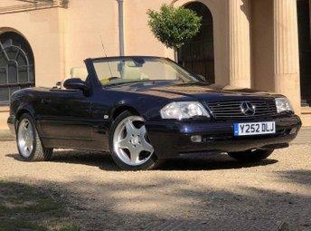 2001 MERCEDES-BENZ SL 3.2 SL320 2d AUTO 221 BHP £17450.00
