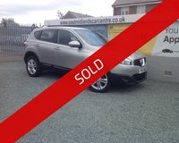 USED 2011 61 NISSAN QASHQAI 1.5 ACENTA DCI 5d 110 BHP DIESEL SILVER EXCELLENT SERVICE HISTORY + SUPER CONDITION