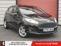 USED 2014 63 FORD FIESTA 1.2 ZETEC 5d 81 BHP Ambient Lighting