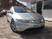 USED 2007 57 HONDA CIVIC 1.8 ES I-VTEC 5d 139 BHP