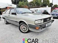 1984 AUDI COUPE 2.0 GT 3d 115 BHP £6995.00