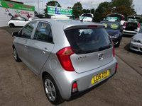 USED 2015 15 KIA PICANTO 1.0 1 5d 68 BHP **JUST ARRIVED... FULL SERVICE HISTORY ... 01543 877320