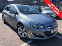 USED 2012 62 VAUXHALL ASTRA 1.6 SRI 5d AUTO 115 BHP AUTOMATIC + ONE OWNER