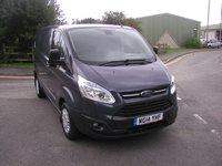 USED 2014 14 FORD TRANSIT CUSTOM 2.2 270 TREND LR P/V 1d 99 BHP Van - NO VAT Only 41000 miles, Parking Sensors