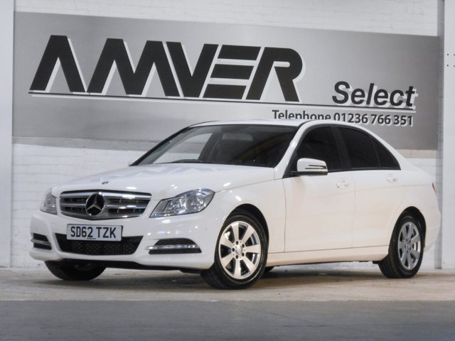 2012 62 MERCEDES-BENZ C CLASS 1.6 C180 BLUEEFFICIENCY EXECUTIVE SE 4d AUTO 154 BHP
