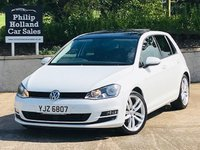 "USED 2016 VOLKSWAGEN GOLF 2.0 GT EDITION TDI BLUEMOTION TECHNOLOGY 5d 148 BHP Panoramic roof, Alcantara sport interior, 18"" Alloys"