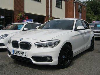 2015 BMW 1 SERIES 1.6 118I SPORT 5d 134 BHP £9495.00