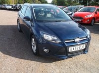 USED 2012 62 FORD FOCUS 1.6 ZETEC TDCI 5d 113 BHP Lovely Driving Focus With Good Service History and Long MOT!