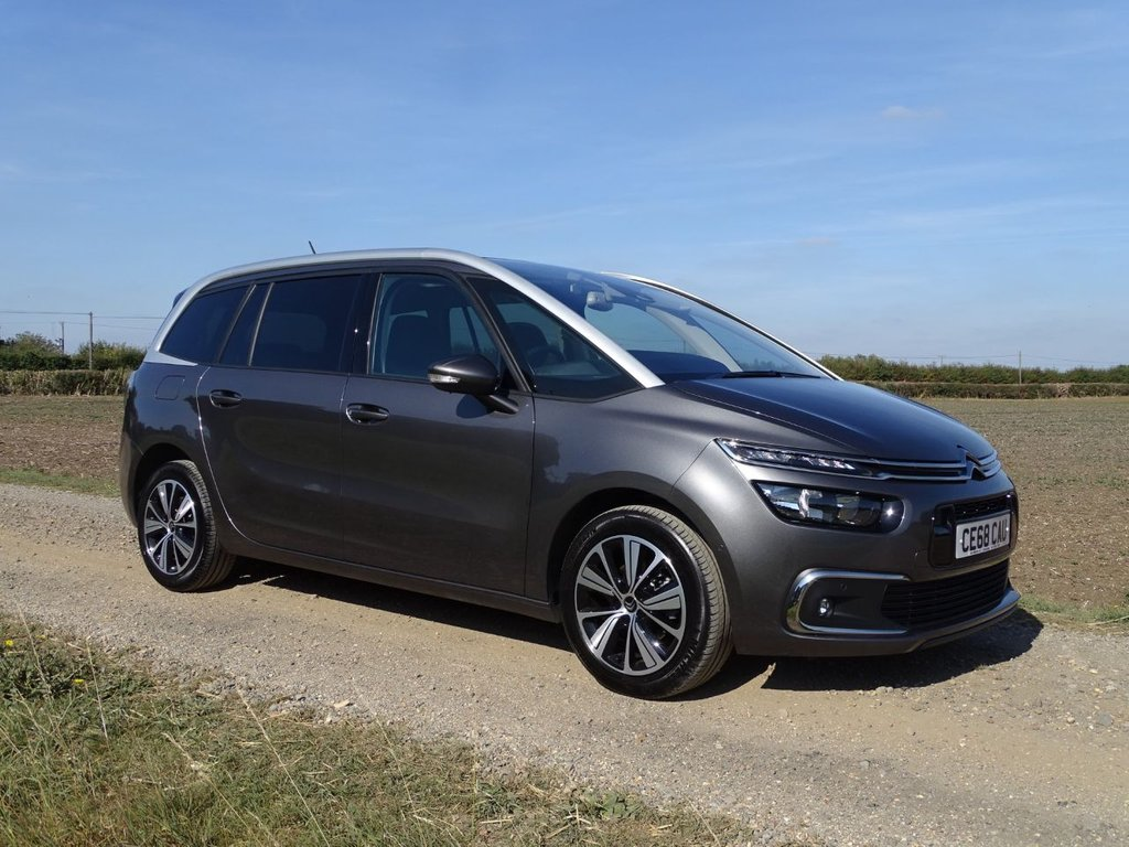 USED 2018 68 CITROEN C4 SPACETOURER 1.2 GRAND PURETECH FLAIR S/S 5d 129 BHP 7 Seater Nav Pan Roof