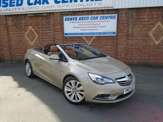 View our VAUXHALL CASCADA
