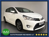 USED 2015 64 TOYOTA VERSO 1.6 VALVEMATIC ICON 5d 131 BHP FULL HISTORY - 7 SEATS - ULEZ OK - PARKING CAMERA - AIR CON - BLUETOOTH - DAB RADIO - CRUISE - AUX / USB