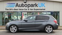 USED 2013 63 BMW 1 SERIES 1.6 118I M SPORT 5d AUTO 168 BHP LOW DEPOSIT OR NO DEPOSIT FINANCE AVAILABLE
