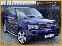 USED 2011 11 LAND ROVER RANGE ROVER SPORT 3.0 TDV6 HSE 5d AUTO 245 BHP *STUNNING BALI BLUE HSE LUX, DIGITAL TV, DAB RADIO*