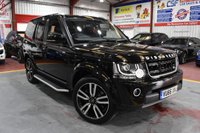 2016 LAND ROVER DISCOVERY 4 3.0 TDV6 AUTO BLACK LANDMARK EDITION FULL LEATHER XENONS SATNAV PAN ROOF  £36495.00