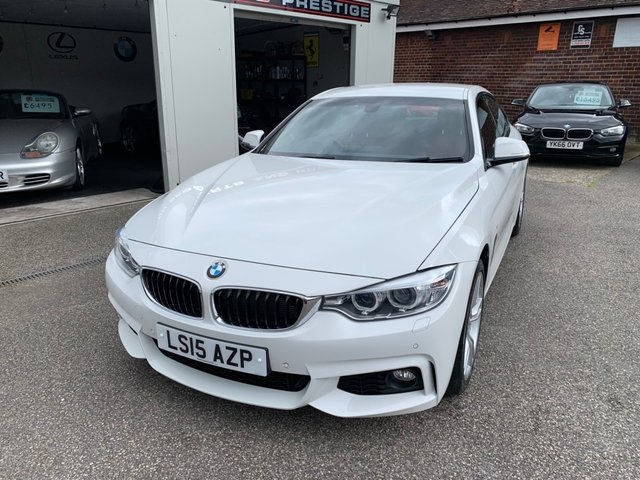 BMW 4 SERIES GRAN COUPE at Euxton Sports and Prestige