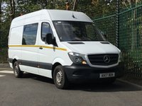 2017 MERCEDES-BENZ SPRINTER 2.1 314CDI 1d 140 BHP £0.01